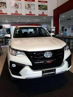 2018 Toyota Fortuner TRD 2.4 Diesel 6 Speed Automatic with Low Downpayment and Monthly Installment, Toyota San Jose del Monte, Bulacan - P 35,117.00 monthly for 5 years