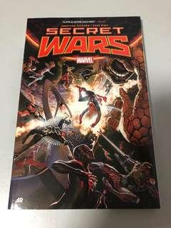 Marvel Secret Wars softcover comics tpb Avengers Fantastic Four