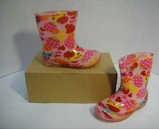 🚚 女童    果凍雨鞋