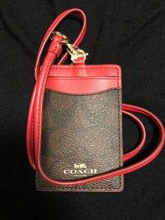 Coach octopus staff ID card holder on sale $280