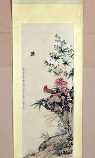 Chinese ink painting by Lu Xiaoman 陆小曼, open for trade