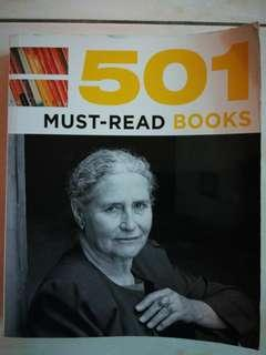 501 Must-Read Books #NEW99