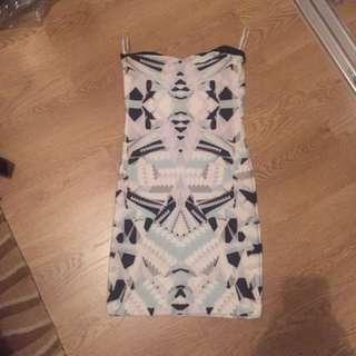 Kookai Size 2 Boobtube Mini Dress
