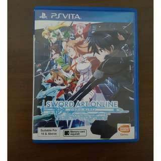 🚚 PS Vita Sword Art Online Hollow Fragment Original Game