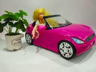 Barbie Car & Disney Doll