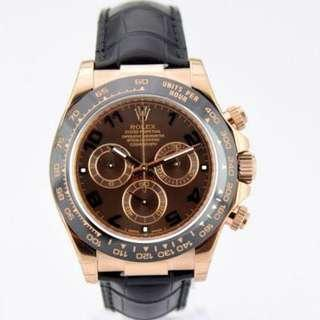 Rolex Daytona Chocolate 116515LN