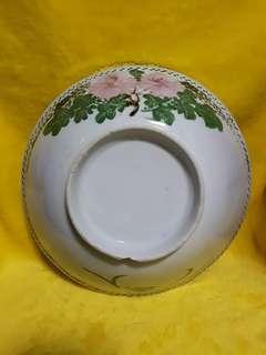 Vintage big flower bowl