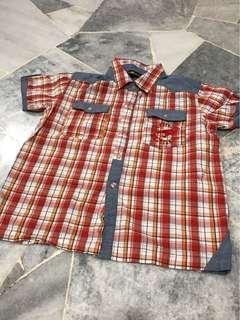 FREE POSTAGE Baby Boy ThunderCats Checkered Shirt Padini