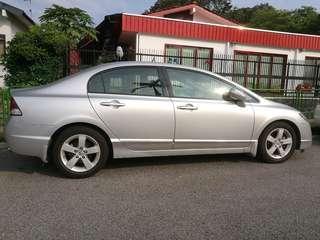 Honda Civic and Toyota Altis car vehicle rent rental