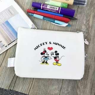 日本雜誌附錄 收納包 米奇 mickey mouse 收納袋 多功能隨身小包包