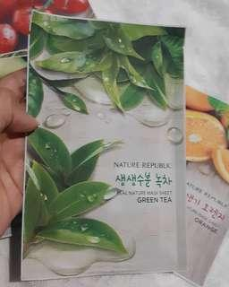 NATURE REPUBLIC SHEETMASK ALOE VERA