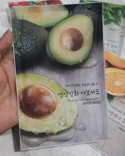 NATURE REPUBLIX SHEETMASK AVOCADO