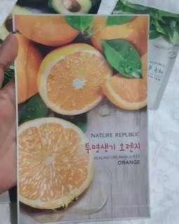 NATURE REPUBLIC SHEETMASK ORANGE
