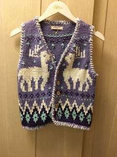 Gaijin Made in Peru animal print cardigan
