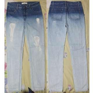 OMBRE BF/MOM JEANS