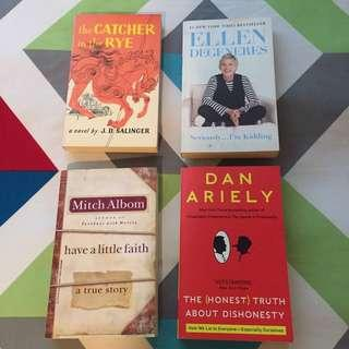 4 Books (Bundle Promo)