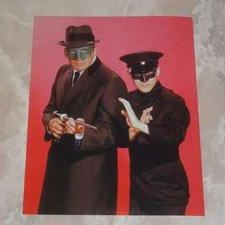 "Bruce Lee In The Green Hornet 8 x 10"" Color Photo 李小龍 Kato Van Williams"