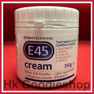 EXP.: 10/2020 英國 E45 Cream 350g 超級滋潤霜 萬能霜 適合孕婦及嬰兒用