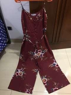 Miss valley floral jumpsuit