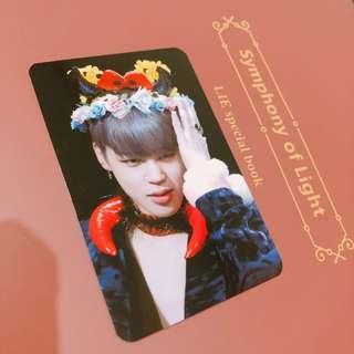 BTS Jimin Photocard