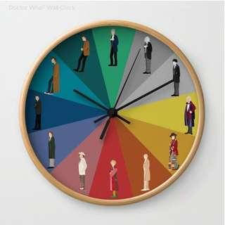 Wall Clock — Doctor Who