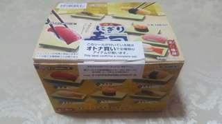 Rement Complete Set of Miniature Doll Sushi Food