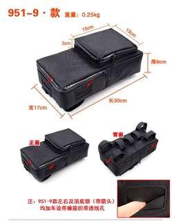 ***In-Stock = External Battery Bag With Pouch 30x17x8cm 4 Outlet Wires