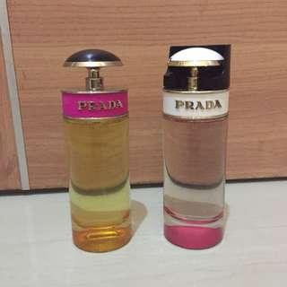 Prada candy original & kiss (perfume)