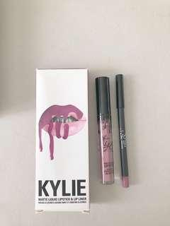 New!! Kylie Matte Liquid Lipstick & Lip Liner in Posie K