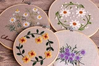 [Pre order] DIY Needlework Embroidery Pack 刺绣包