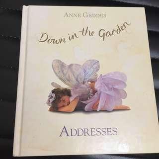 book  address book from anne geddes