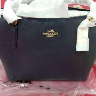 Coach midnight AVA tote