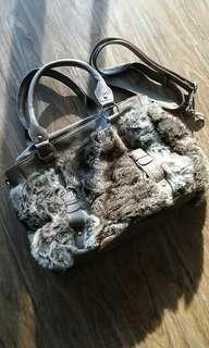 Cozy Faux Fur Shoulder Bag