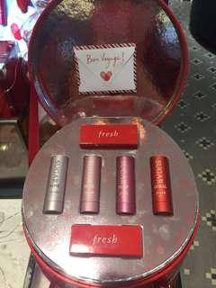 Fresh lipstick 2018 X'mas set