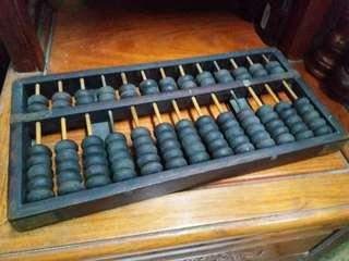 老舊 十三行算盤