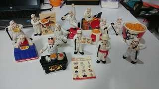 Vintage KFC Toys 1套12件