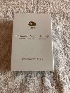 Nintendo premium MARIO trump playing cards
