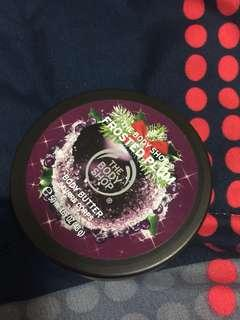 Body Shop Body Butter (frosted plum)