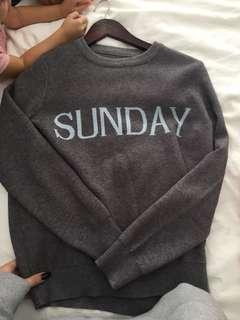 Day of the week sweater