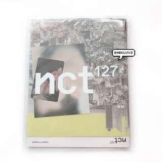 [W POSTER] NCT 127 Regular - Irregular Official Album + Postcard + Photocard