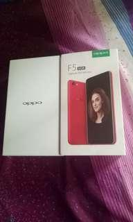 Oppo F5 (not youth) 6GB RAM 64GB ROM
