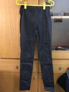 🚚 NET 鐵灰色 格紋褲