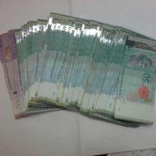Malaysia Ringgit Rm For Sale, Change To Sgd, Malaysian Rm$