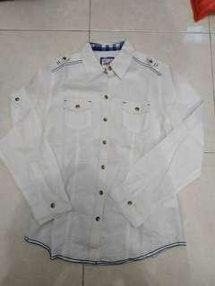 American Jeans White Shirt
