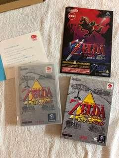 Nintendo club zelda collection & 時之笛裏version