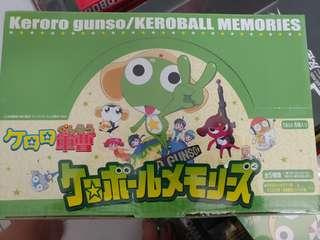 全新 盒蛋 MegaHouse K隆球蛋 KERORO vol.1 & 2 各5款共10隻 KERORO小隊