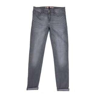Zara Trafaluc  Super Skinny Fit in Silver Grey Spray On