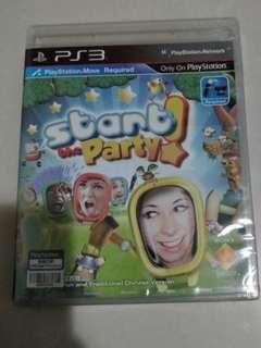 PS3 Game (未開封)Start the Party