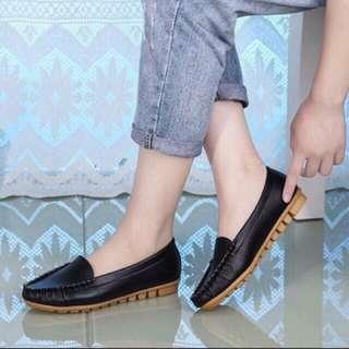 Korean loafer shoes