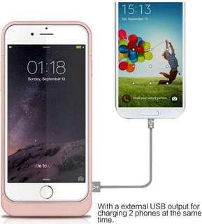 Apple IP6/6S External Power Battery Case